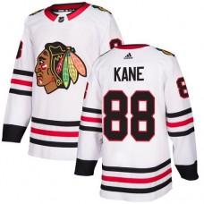 Women's Chicago Blackhawks #88 Patrick Kane Away White Authentic Jersey