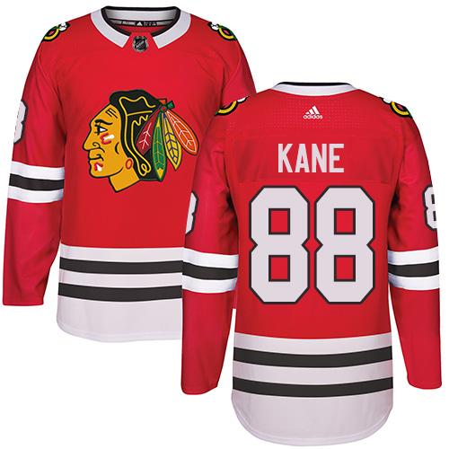 Chicago Blackhawks #88 Patrick Kane Red Kids Jersey