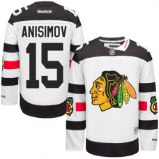 Chicago Blackhawks #15 Artem Anisimov Authentic White 2016 Stadium Series Reebok Jersey