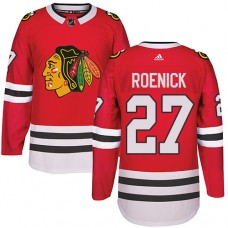 Kid's Chicago Blackhawks #27 Jeremy Roenick Premier Red Home Adidas Jersey