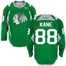 Chicago Blackhawks #88 Patrick Kane Authentic Green Practice Reebok Jersey