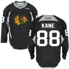 Chicago Blackhawks #88 Patrick Kane Authentic Black Practice Reebok Jersey