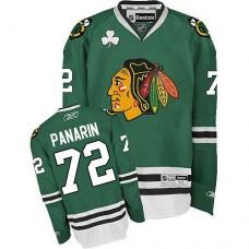 Chicago Blackhawks #72 Artemi Panarin Authentic Green Reebok Jersey