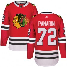 Kid's Chicago Blackhawks #72 Artemi Panarin Authentic Red Home Adidas Jersey