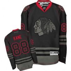 Chicago Blackhawks #88 Patrick Kane Authentic Black Ice Reebok Jersey