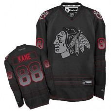 Chicago Blackhawks #88 Patrick Kane Authentic Black Accelerator Reebok Jersey