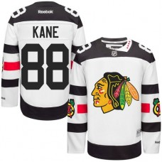Kid's Chicago Blackhawks #88 Patrick Kane Authentic White 2016 Stadium Series Reebok Jersey