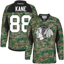 Chicago Blackhawks #88 Patrick Kane Authentic Camo Veterans Day Practice Reebok Jersey