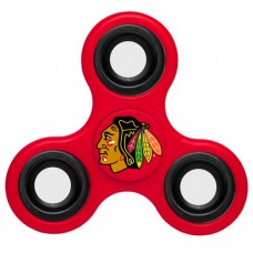 Chicago Blackhawks 3 Way Fidget Spinner - Red