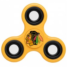Chicago Blackhawks 3 Way Fidget Spinner - Yellow