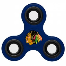 Chicago Blackhawks 3 Way Fidget Spinner - Royal