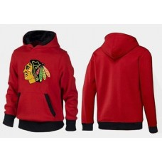 Chicago Blackhawks Big & Tall Logo Pullover Red/Black Hoodie Sweather
