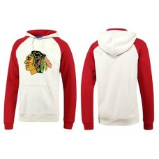 Chicago Blackhawks Big & Tall Logo Pullover White/Red Hoodie Sweather