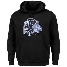 Chicago Blackhawks Black Hoodie Sweather
